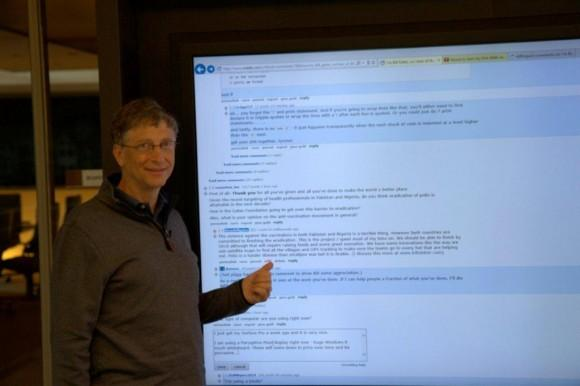 Bill Gates: iPad users frustrated over lack of keyboard