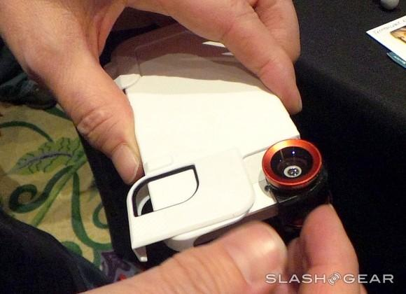 Olloclip iPhone app fixes distortion from camera lens kit
