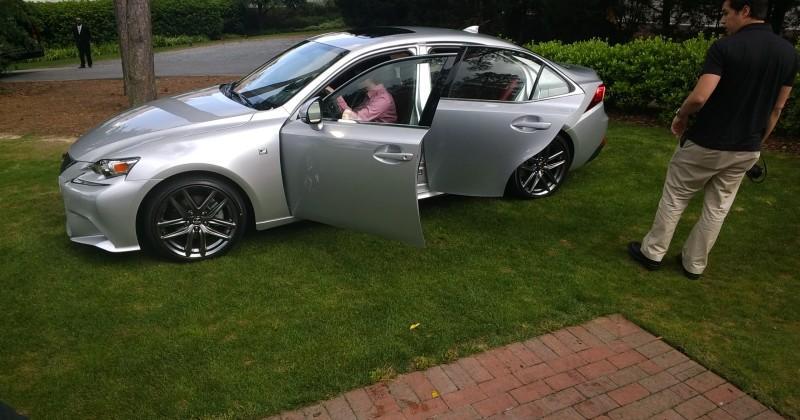 2014 Lexus IS Prototype Test Drive