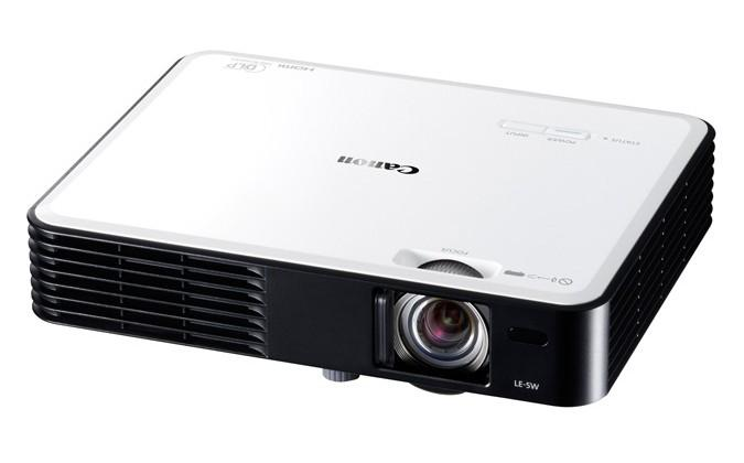 Canon LE-5W portable projector set for summer with 3LED technology