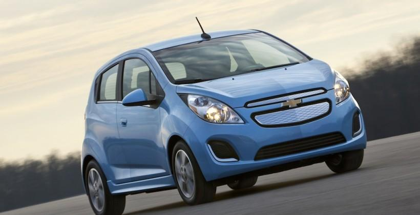 Chevy Spark adds Fast Charge and route re-mapping to avoid range anxiety
