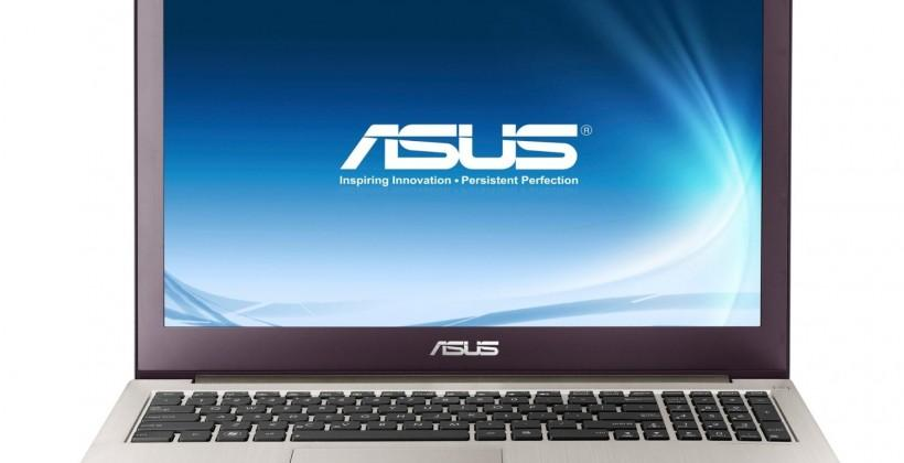 Asus Zenbook packing Retina-blasting 15.6-inch screen quietly goes on sale