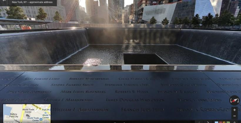 Google Street View pays tribute to 9/11, Hurricane Sandy