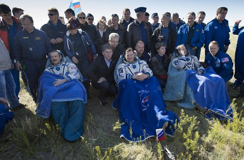 Chris Hadfield and crew safely return to Earth from International Space Station