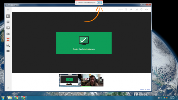 Google Plus Hangouts get Remote desktop feature using Chrome technology 2