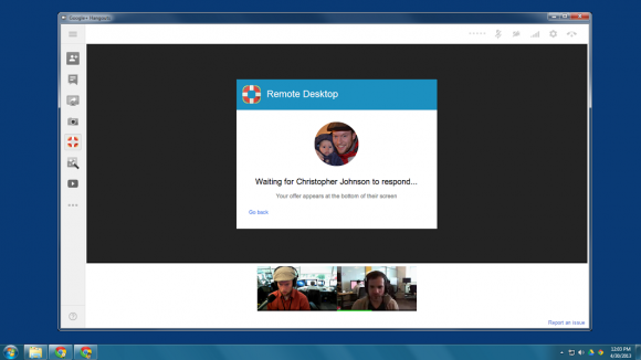 Google Plus Hangouts get Remote desktop feature using Chrome technology