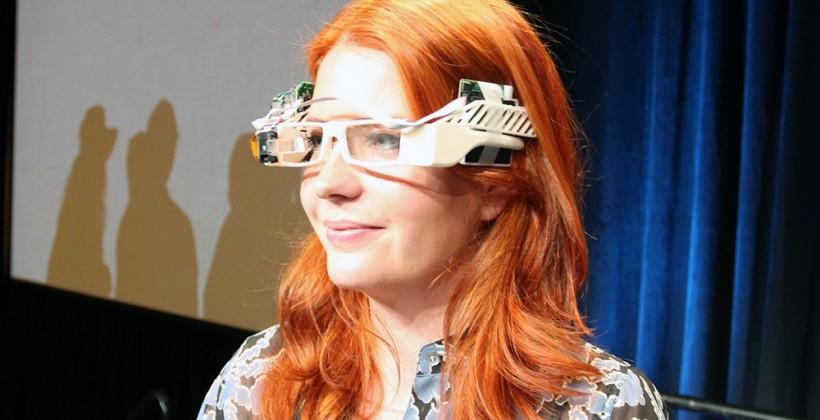 Google Glass Original Prototype eyes-on with Isabelle Olsson