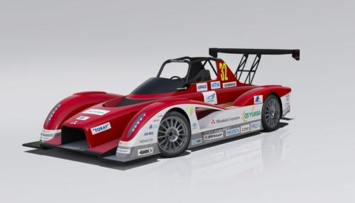 Mitsubishi unveils a pair of new all electric racecars for 2013 Pikes Peak hill climb