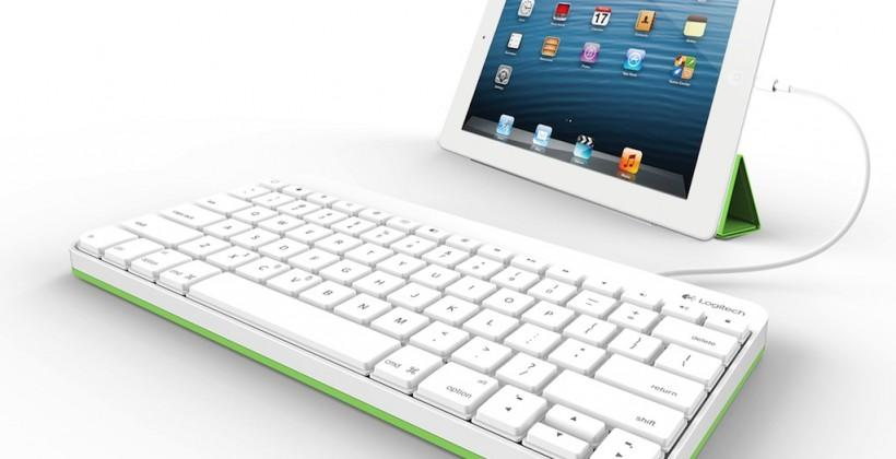 Logitech Wired Keyboard for iPad eschews Bluetooth for old-school connection