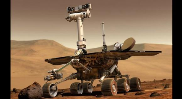 Mars rover Opportunity breaks space driving distance record