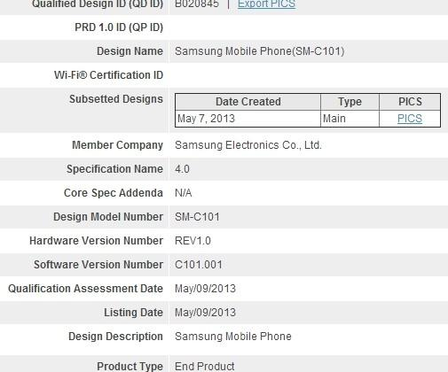 Samsung Galaxy S4 Zoom apparently confirmed by Bluetooth SIG