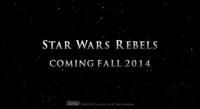 Star Wars Rebels cartoon series coming fall 2014