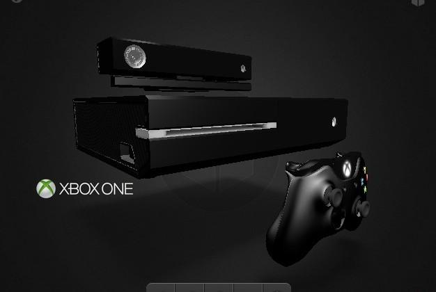 Xbox One 3D render gives you a closer look at the console