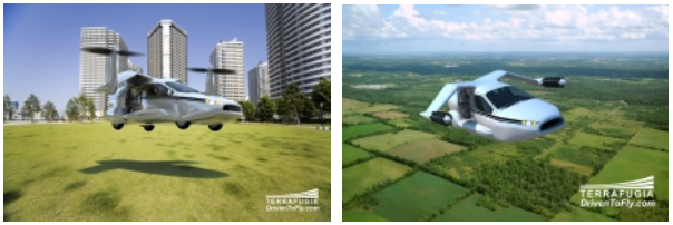 Terrafugia's TF-X concept flying car makes every road its launch pad