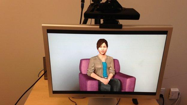 Researchers create virtual therapist with webcam and game sensor