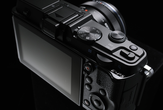 Olympus PEN E-P5 relaunches original PEN F with digital build