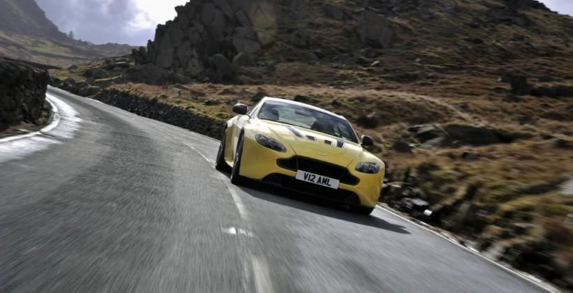 Aston Martin unveils V12 Vantage S sports car