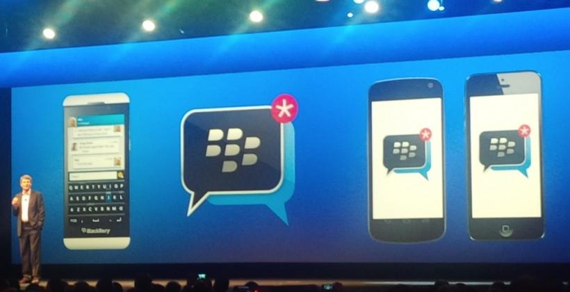 BlackBerry: No BBM for iPad app at cross-platform launch