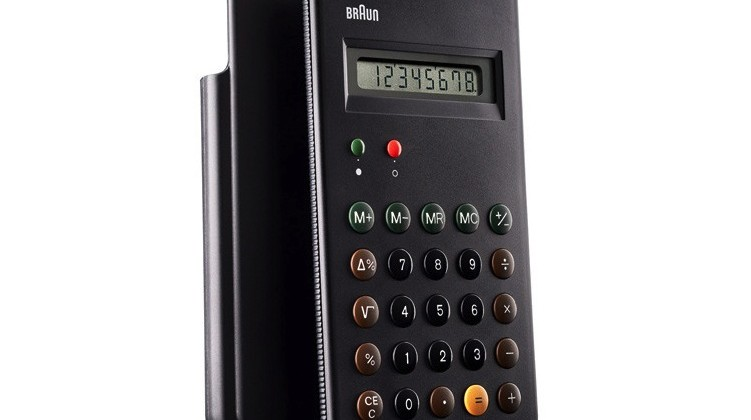 Braun ET66 calculator classic gets reissued