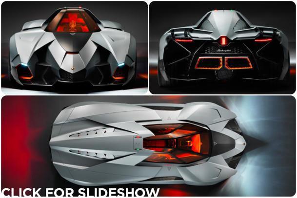 Lamborghini celebrates its 50th birthday with the Egoista concept