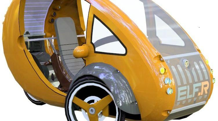 ELF rides the line between car and bicycle for green future