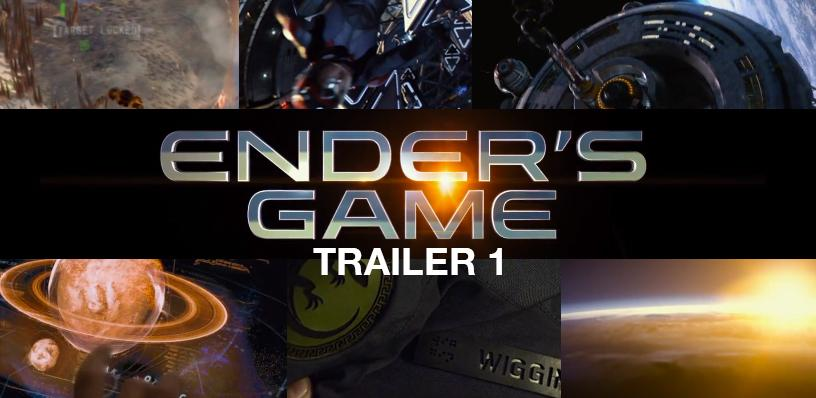 Ender's Game trailer reveals child genius training for future alien war