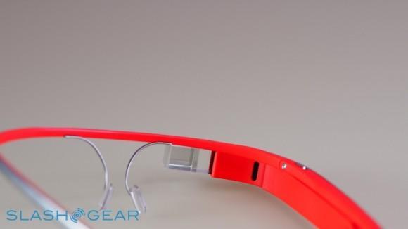 Google Glass eyepiece