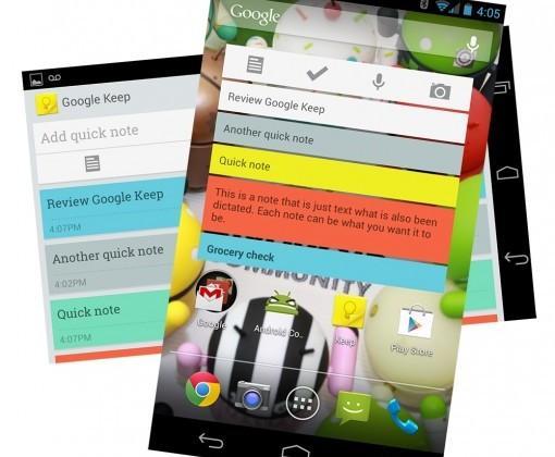 Google Keep arrives in Chrome Web Store for cross-platform notes