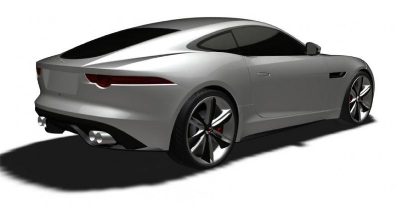Jaguar F-Type coupe unofficially previewed (but you'll have to wait until 2014)