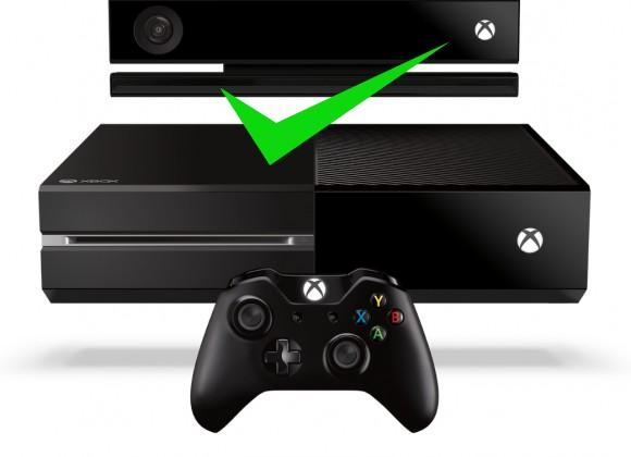 Xbox One requires Kinect to function