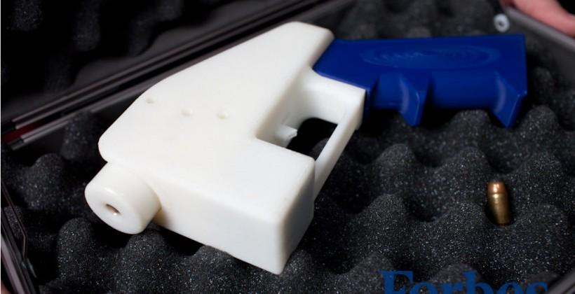 Law student creates world's first fully 3D-printed gun