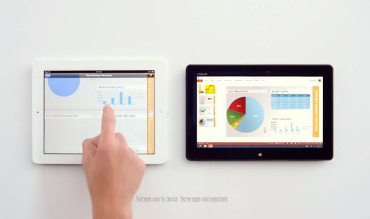 Microsoft borrows Siri for iPad smack commercial