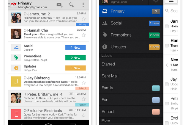 Gmail update brings automatic, customizable inbox sorting