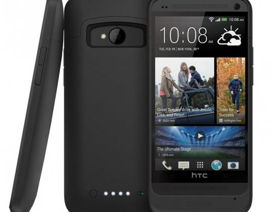 Mophie Juice Pack for HTC One offers to double your Zoe-time
