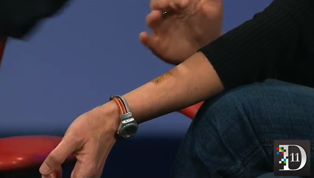 "Motorola developing digital tattoos and ""smart pills"" for next-gen wearables"