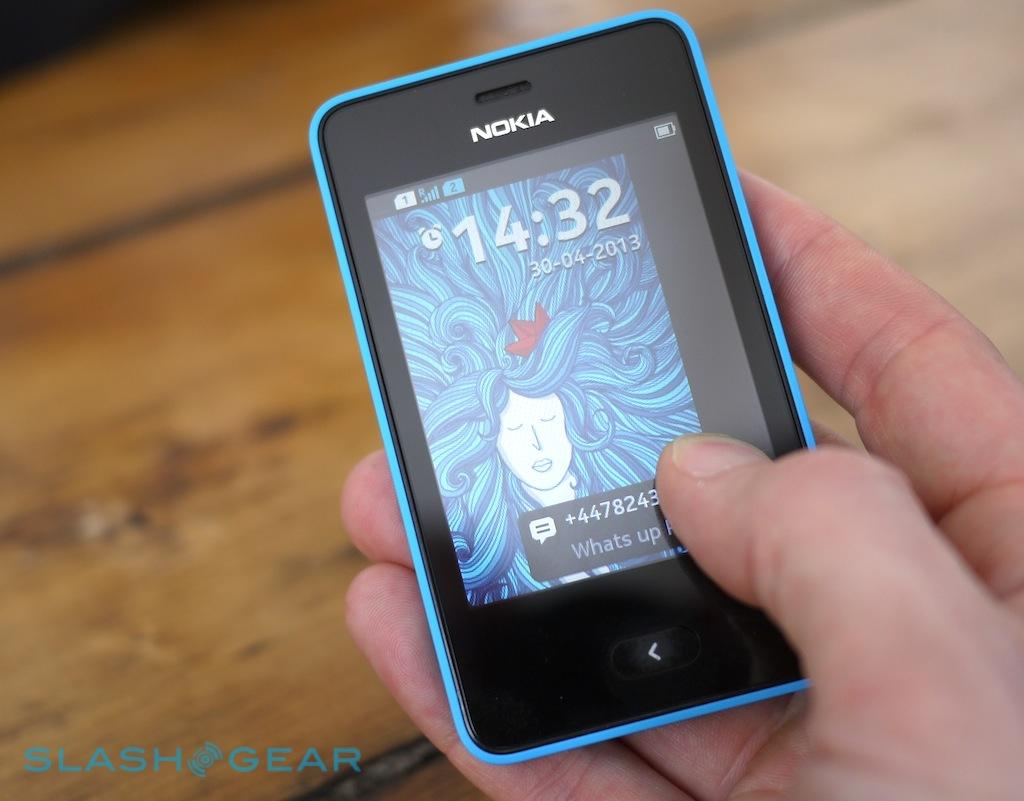 Nokia Asha 501 Hands On Slashgear