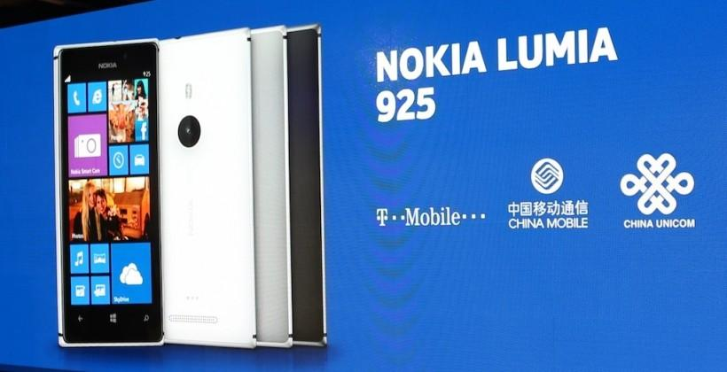 Nokia Lumia 925 coming to T-Mobile USA