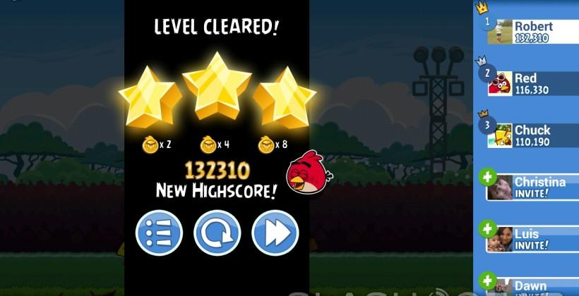 Angry Birds Friends puts a social spin on Rovio's popular game