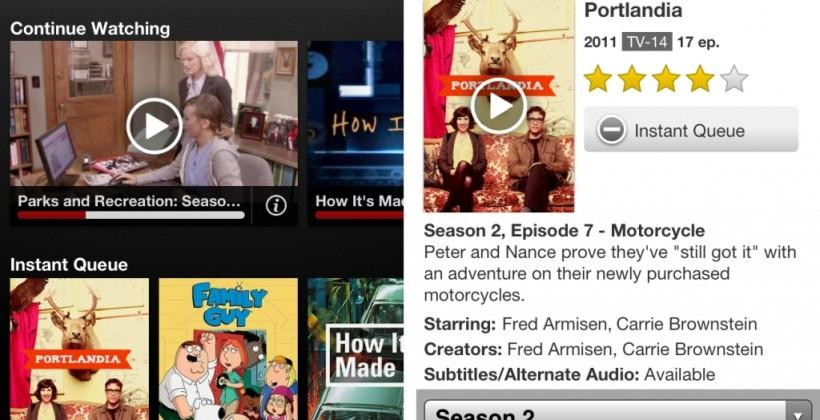 Netflix for iOS update brings auto-play and more recommendations