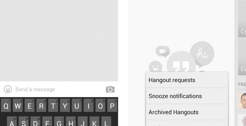 Google+ Hangouts for Android now live, replaces Google Talk [UPDATE]