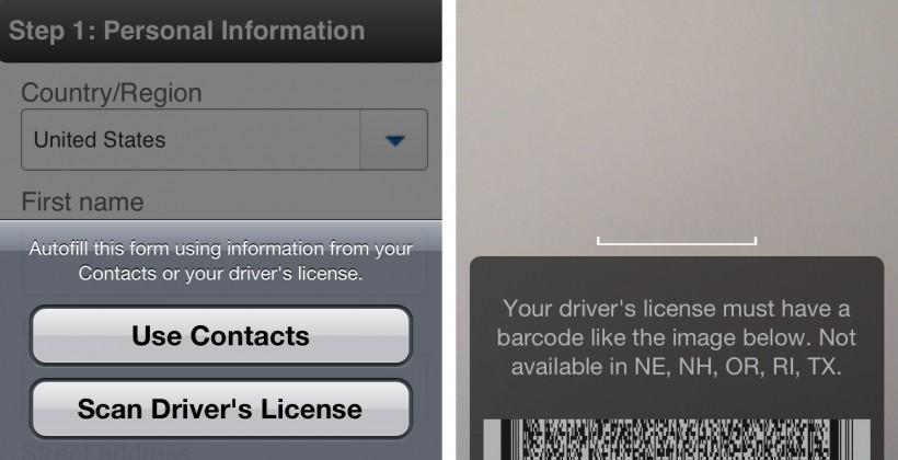 eBay iOS app updates with driver's license scanning [UPDATE]
