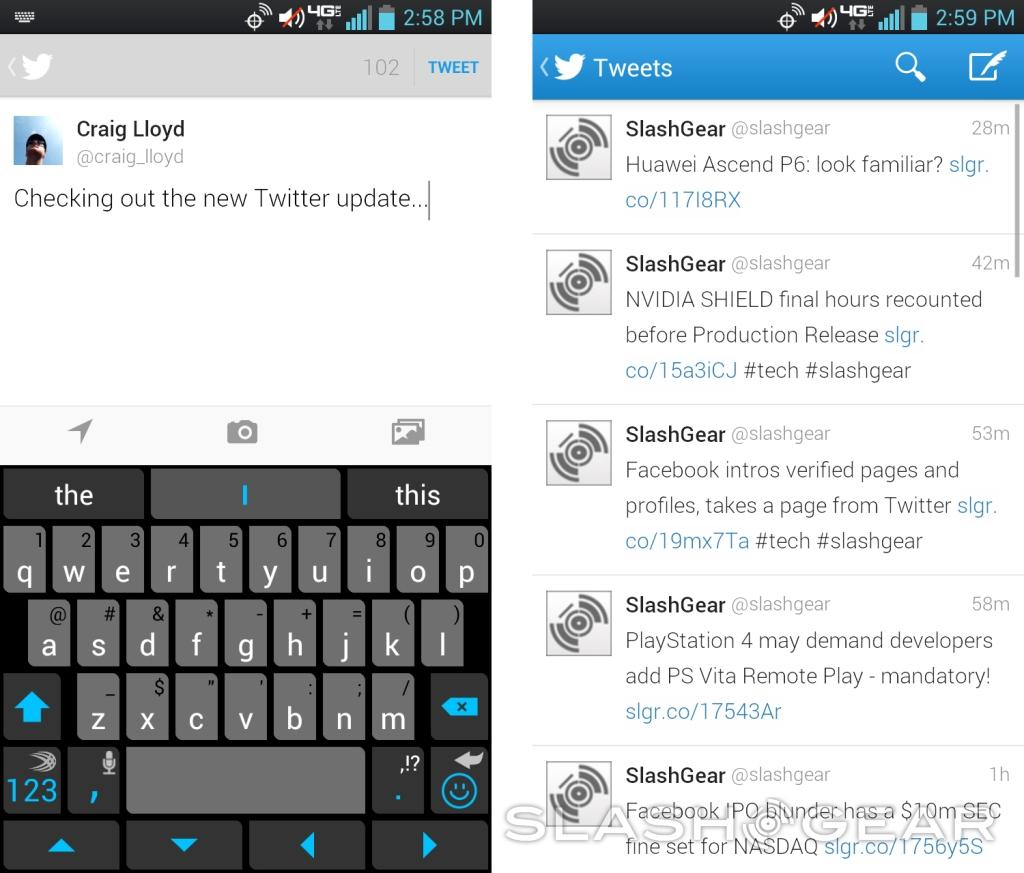 Twitter updates mobile app with improved composer and tweet