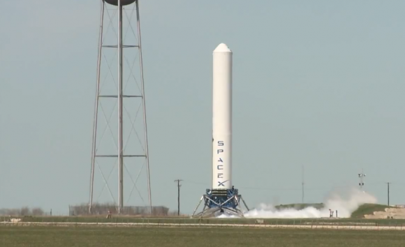 SpaceX signs Spaceport America deal to test Grasshopper rocket