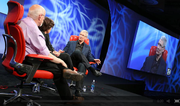 Apple CEO Tim Cook's full AllThingsD interview video now available