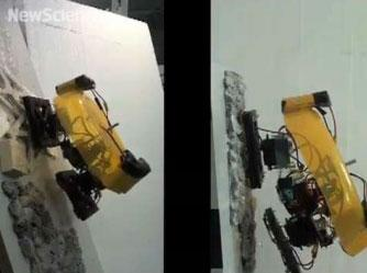 Robot with gooey feet can scale tall mountains using hot plastic