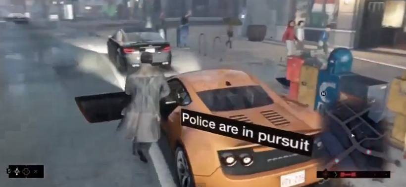 Watch Dogs gameplay depicts 21st century ninja