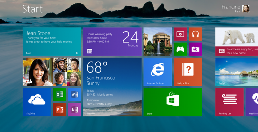 Windows 8.1 fully detailed with return of Start button