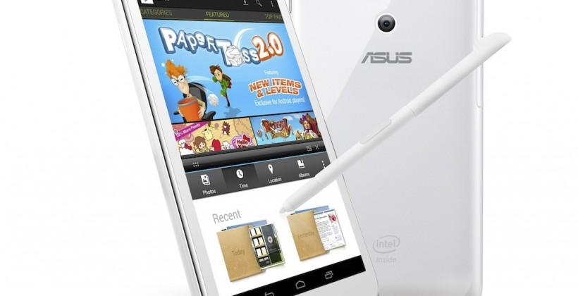 ASUS FonePad Note brings 6″ Atom-powered attack to Galaxy Note