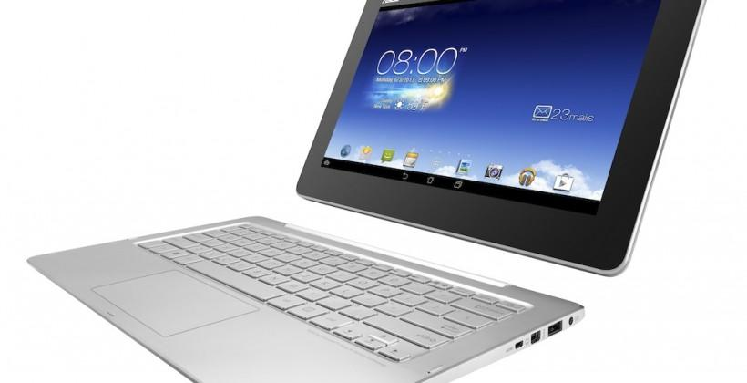 ASUS Transformer Book Trio runs Android and Windows on lap, desk & in hands