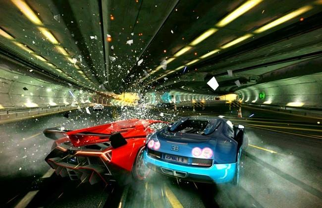 Asphalt 8: Airborne official: new maps, physics and weather effects